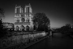 Notre-Dame de Paris (Jensens PhotoGraphy) Tags: frankreich france kathedrale river seine wasser water city stadt