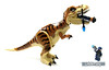 Restrain the T.Rex no matter what (WhiteFang (Eurobricks)) Tags: lego dinosaurs trex jurassic park world fallen kingdom tyrannosaurus acus security military patrol weapons science scientist research island transport armoured