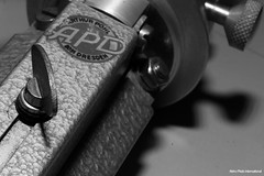 APD Tripod (Retro Photo International) Tags: bw apd arthur pohl dresden tripod macro 8051 carl zeiss jena tessar 50mm 35 ddr east germany gdr 7dwf photography gear macromondays