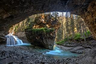 Johnston Canyon Cave, Banff National Park
