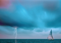 ~I'm not afraid of storms, for I am learning how to sail my ship. (Fire Fighter's Wife) Tags: 2952 lifeisarainbow storm sea lake sail sailboat boat lakemichigan stormy clouds cloud sky lightning water moody emotive dreamy muted matte faded colors nikon nikond750 100400mm sigma 10004000mmf5063 mutedcolors mutedshadows mutedhues fadedcolors fadedhues blue light sunset landscapes 7dwf