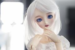 Nevan (Kyane) Tags: sdgr grafitti creamymami volks doll dolls muñeca bjd superdollfie dollfie limited custom cute kawaii white light angel