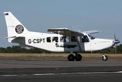g-cspt ga8 egkb (Terry Wade Aviation Photography) Tags: ga8 egkb