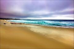 ... a sud di Carrmel (Gio_guarda_le_stelle) Tags: wonderland seascape storm clouds sea water ocean travel bigsur ytiè 4x4 oceano surf california pacificocean carmel beach