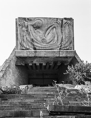 The abandoned Archeological Museum in Tbilisi. (kosmos.pilot) Tags: 6x45 tbilisi sovietarchitecture soviet bronicarf645
