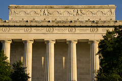 A Nation Divided (dayman1776) Tags: abraham lincoln memorial mall washington dc sunset side north temple greek roman classical neoclassical architecture classic column columns