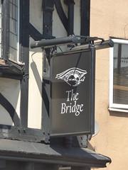 Bridge Inn - Lowesmoor Terrace, Worcester - pub sign (ell brown) Tags: worcester worcestershire england unitedkingdom greatbritain pub publichouse lowesmoorterrace bridgeinn sign pubsign thebridge