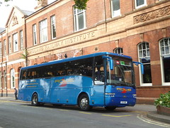 Rowe E20 OWE (X579 BYD), Railway Terrace, Derby (sambuses) Tags: nui7670 x579byd rowe e20owe railreplacement