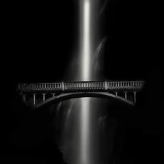 + (nlwirth) Tags: nlwirth yup waterfall bridge oregon multnomah blackandwhite exposureofthelongkind water light spaceofthenegativekind