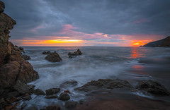 Malibu Beach Fine Art Landscape Seascape Photography: Sony A7RII Sunset Pacific Ocean Fine Art Nature Photography: Elliot McGucken California Ocean Colorful Clouds Long Exposure Water Reflections Scenic Vista View! Carl Zeiss Sony T* FE 16-35mm f/4 ZA OSS (45SURF Hero's Odyssey Mythology Landscapes & Godde) Tags: malibu beach fine art landscape seascape photography sony a7rii sunset pacific ocean nature elliot mcgucken california colorful clouds long exposure water reflections scenic vista view carl zeiss t fe 1635mm f4 za oss