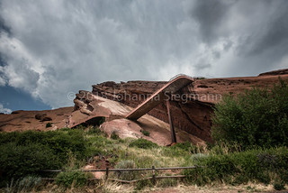 red-rock amphitheater