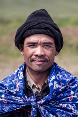 Portrait, Bromo, Indonesia (pas le matin) Tags: portrait asia asie southeastasia world travel voyage indonesia man homme indonésie bonnet hat cap canon 7d canon7d canoneos7d eos7d bromo