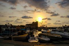 Byblos Sunset (hey tiffany!) Tags: byblos jbeil lebanon sunset yr2