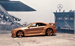 Mercedes CLK DTM AMG (ManOfYorkshire) Tags: mercedes clk dtm amg saloon car auto model scale 164 diecast toy cheap detailed repainted repaint racing custom bronze