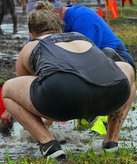 My muddy gals in action! (J2/K2anti-pedifile here) Tags: muddyladies mudvolleyball mud muddy muddygirls volleyball ladies