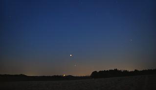 Bloody Moon, the Mars & Saturn