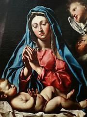 Detail of Virgin adoring the Child by Francesco Cozza (martim33) Tags: painting virgin cozza cherubs bari