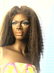 Massai Mannequin (capricornus61) Tags: massai mannequin shop window doll dummy dummies figur puppe schaufensterpuppe black afro african woman women frau weiblich feminine art face body home indoor collecting sammeln hobby