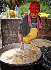 frying banana fritters (MagnusCaleb) Tags: banana street food