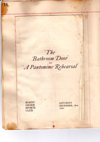 1920: Dec Programme 1