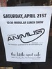 Modular (synth) Lunch (docpop) Tags: modular synth animus live little spot cafe sanfrancisco sf noise drone