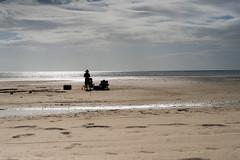 365, Day 319 (clarissa___t) Tags: candid guam fem female beach ocean sand lowtide clouds sky water silhouttes silhoutte 365 365photoaday nikon d700