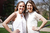Side by side (crbrownies) Tags: west virginia university graduation celebration friends photo shoot sony a6000 portrait cherry blossom wvu mountaineer spring