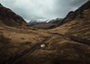 Heart of the Highlands (marinaweishaupt) Tags: scotland highlands nature landscape travel camping outdoor brown valley glen etive snow winter