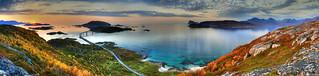 Arctic Sunset Panoramic