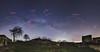 Sternenhimmel über Burg Lindelbrunn (tankredschmitt) Tags: aquila astronomie burg cassiopeia cygnus flickr jupiter lichteffekte lyra milchstrase nachtaufnahme nightscape pfalz planet scorpio sternbilder sterne wordpress