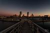 Lakeshore Park Marina II (In Wonder Photo) Tags: vanishingpoint architecture water pier skyline dawn sunrise milwaukee wisconsin lakemichigan nikon d850 markadsit