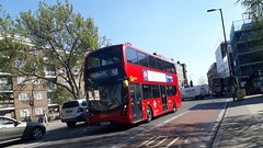 Go-Ahead London Central EH129 SN66WPE | X68 (Unorm001) Tags: eh129 eh 129 x68 sn66wpe sn66 wpe red london double deck decks decker deckers buses bus routes route diesel hybrid electric dieselelectric battery batteryelectric hybridelectric