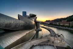 Bilbao - Vacanze 2017 (auredeso) Tags: bilbao spagna espana guggenheim tramonto hdr tonemapping ragno nikond7100 tokina1116 kinon d7100 tokina