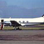 G-BKJZ Gulfstream 1 Rolls Royce CVT 29-08-84 thumbnail