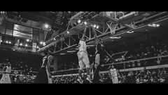 Jump Higher (Scope35) Tags: basketball basket paris dunk shot ball bw blackandwhite nikon d3100