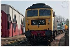 D1842 (zweiblumen) Tags: d1842 class47 47192 1965 creweheritagecentre crewe cheshire england uk canoneos50d canonef50mmf14usm polariser vintage diesel train locomotive hdr zweiblumen picmonkey 6t79