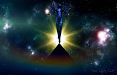Prism of Life (Nevi Raven-Owle) Tags: nevi raven owle maitreya catwa magy vtech femboi trap plastik truth starscape pyramid god goddess celestial starburst nebula stars fantasy faire wings horns