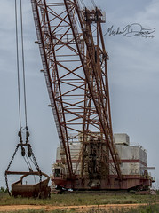 Luminant Marion 8200 (Oak Hill Mine) (Michael Davis Photography) Tags: luminant texas dragline marion marion8200 mariondragline oakhillmine oakhill texasmine coal coalmine surfacemine stripmine excavator bucket machine giantmachine earthmover