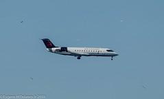 Air Canada Express, Jazz Air, C-GJZZ, 2004 Bombardier CRJ-200ER, CL-600-2B19, MSN 7978, FN 161 (Gene Delaney) Tags: aircanadaexpress jazzair cgjzz 2004bombardiercrj200er cl6002b19 msn7978 fn161