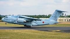Japanese C-2 (lee adcock) Tags: 2018 c2 departures friat japan japaneseairselfdefenceforce kawasaki riat airshow fairford nikon70200f28vri nikond7200