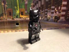 "Minifigures #10 ""The Titanium Bat"" (-InsomniCat-) Tags: brickmilanscontest lego dc batman figbarf minifigures"
