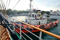 DSC_5990 (yuhansson) Tags: фрегат херсонес море чёрное парусник крым паруса парус корабли корабль путешествие путешествия югансон юрий boat sea sky water vessel ship sailing