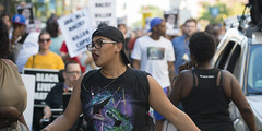 """Thurman Blevins """"Please don't shoot me!"""" March (Fibonacci Blue) Tags: minneapolis twincities minnesota protest march demonstration event dissent activism outcry activist outrage blm crowd people police shooting"""
