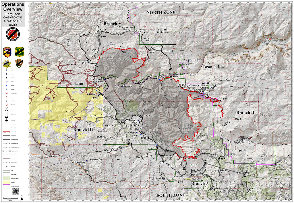 Fire Map California July 2018.The World S Best Photos Of California And Fire And Map Flickr Hive