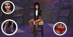 girl gambler boss (ᴜɢʟʟʏᴅᴜᴄᴋʟɪɴɢ) Tags: secondlife sl avatar avi virtual world girl brunette violet game cybergame gameroom scenery backdrop blogger fashion ootd style semotion love dirtyprincess michan sorumin queenz lune ugllyduckling light maitreya catwa face smile