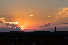 Sunset in Mikulov (Fotos4RR) Tags: mikulov sunset sonnenuntergang evening abend mähren moravia sun sonne czechrepublic tschechien česko morava jihomoravskýkraj abendstimmung eveningmood