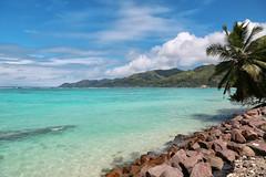 Anse Royale Beach...(1) (John Konstandis) Tags: canoneos5dmarkiii canonef24105mmf4lisusm seychelles mahe anseroyale island sea seacoast sky water sand blue green tropic