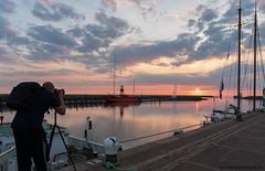 Harlingen Sunset met @sidneyportier