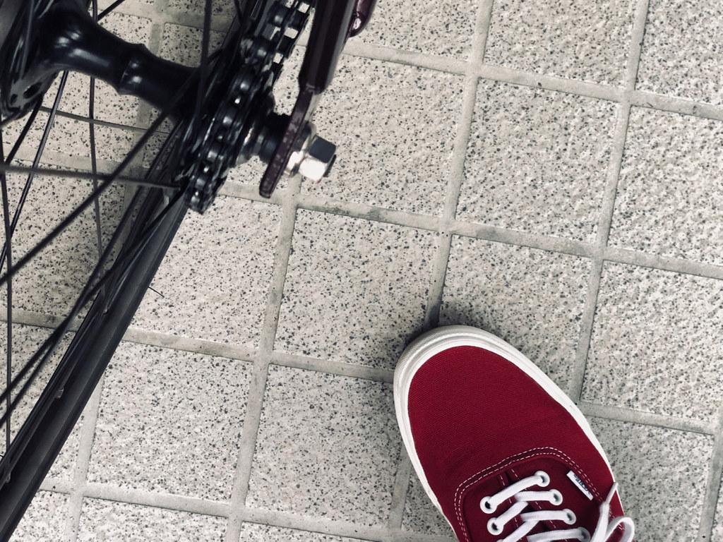 69fd85f9c13367 IMG 2933 (uki cafe) Tags  japan hokkaido iphone iphonex shoes sneaker vans  authentic bicycle fixedgear