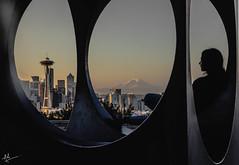 Good Morning, Seattle! (ashpmk) Tags: seattle seattlelife seattlephotos seattlite downtownseattle downtown kerrypark pnw nw pacificnorthwest pacificcoast spaceneedle portrait